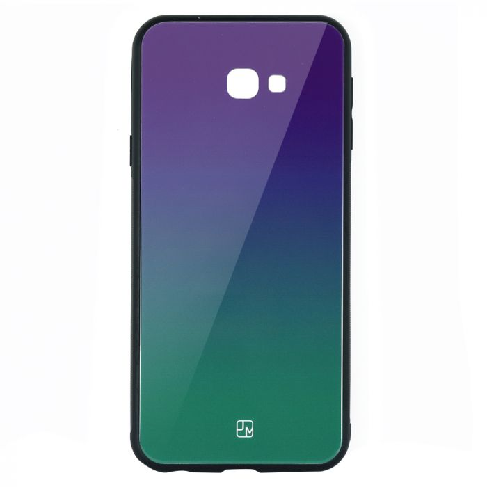 Carcasa Sticla Samsung Galaxy J4 Plus Just Must Glass Gradient Purple-Green