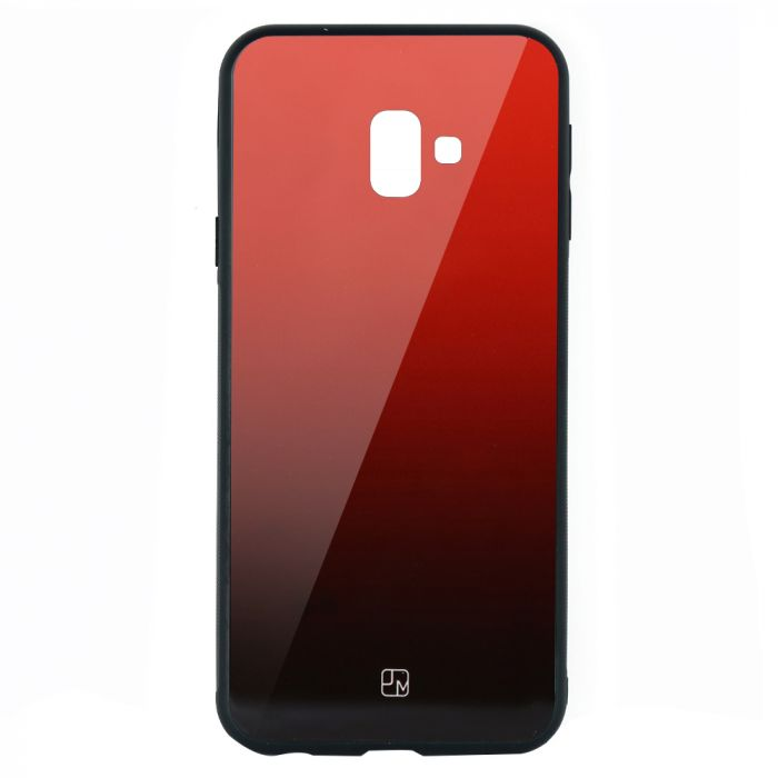 Carcasa Sticla Samsung Galaxy J6 Plus Just Must Glass Gradient Red-Black
