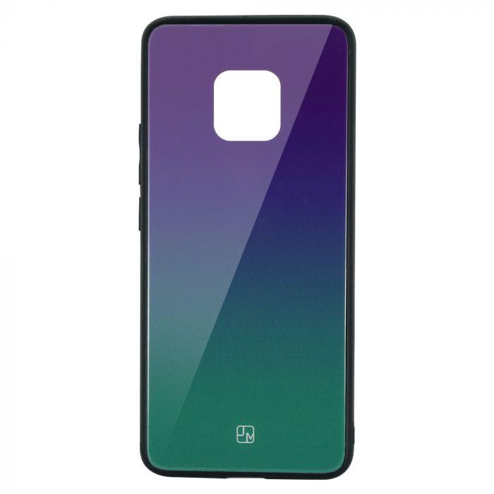 Carcasa Sticla Huawei Mate 20 Pro Just Must Glass Gradient Purple-Green