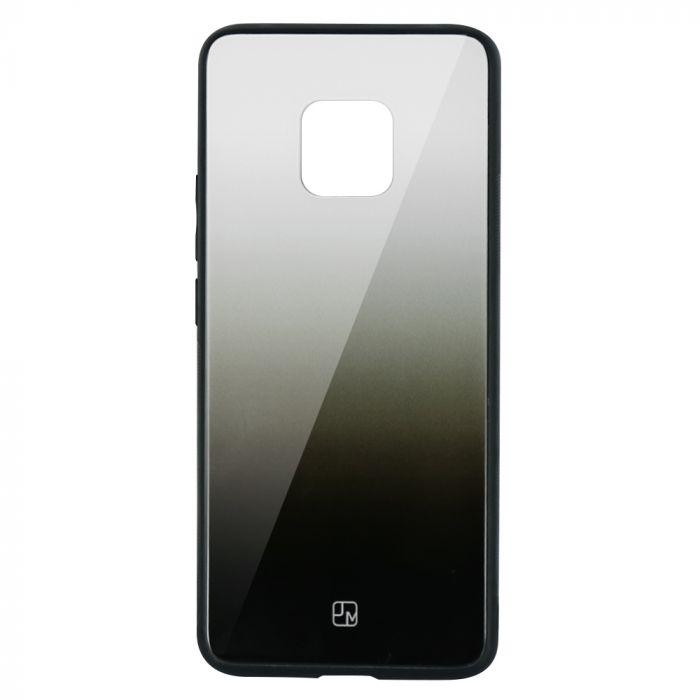 Carcasa Sticla Huawei Mate 20 Pro Just Must Glass Gradient White-Black