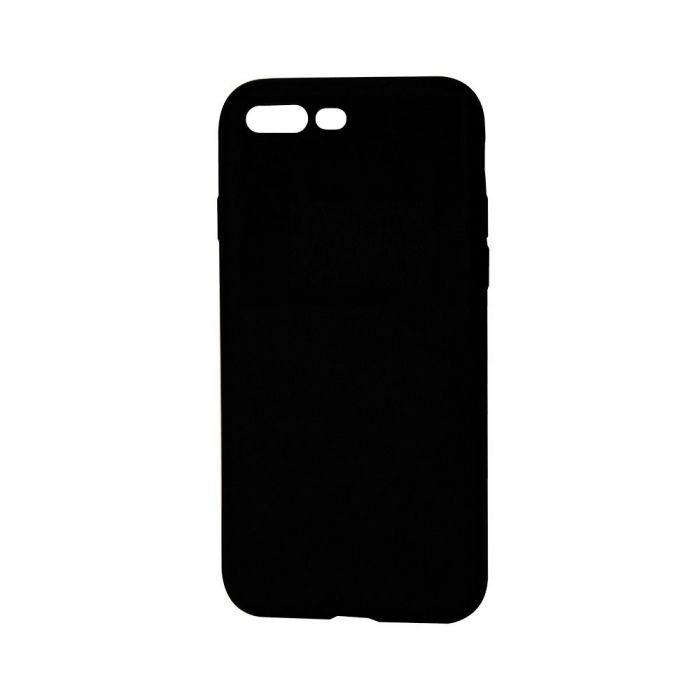 Husa iPhone 8 / 7 Lemontti Silicon Silky Negru