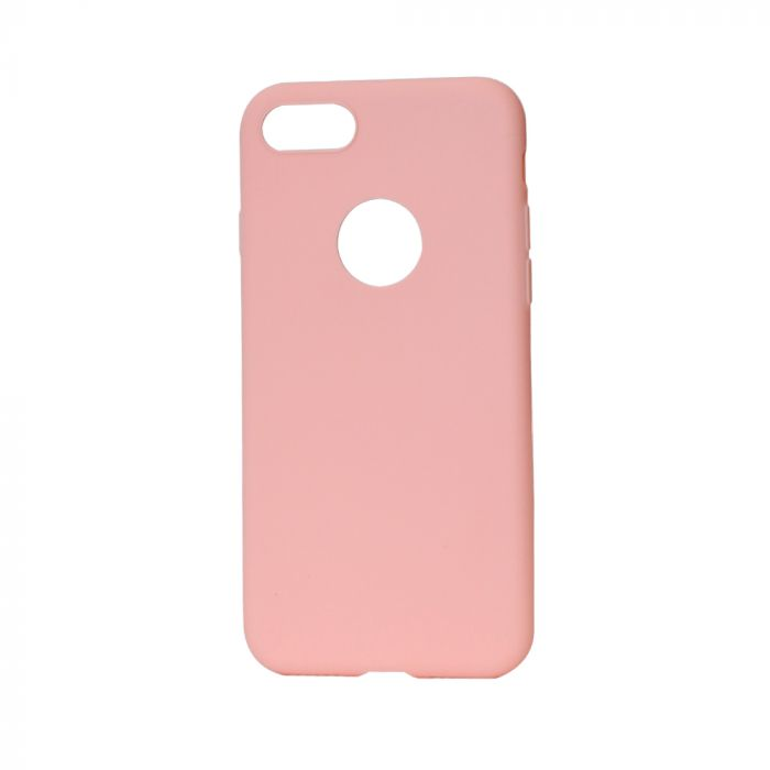 Husa iPhone 7 Lemontti Silicon Silky Roz