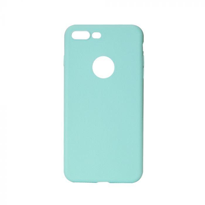 Husa iPhone 7 Plus Lemontti Silicon Silky Albastru
