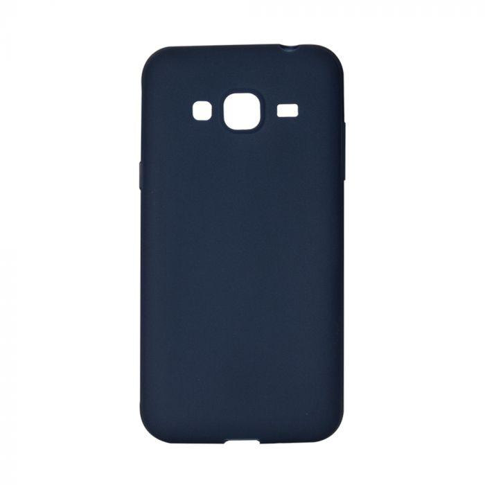 Husa Samsung Galaxy J3 (2016) Lemontti Silicon Silky Albastru Inchis