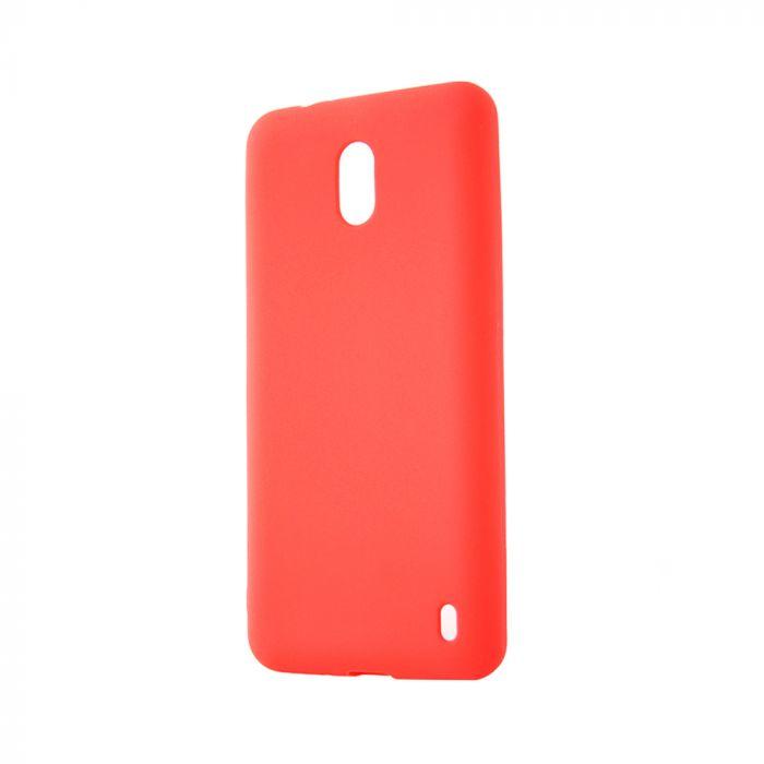 Husa Nokia 2 Lemontti Silicon Silky Rosu