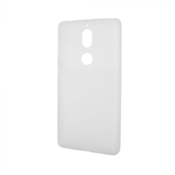 Husa Nokia 7 Lemontti Silicon Silky Semitransparent Alb