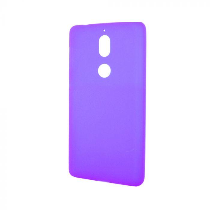Husa Nokia 7 Lemontti Silicon Silky Semitransparent Mov