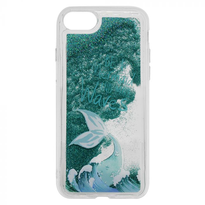 Carcasa iPhone SE 2020 / 8 / 7 Lemontti Liquid Sand Be A Mermaid And Make Waves