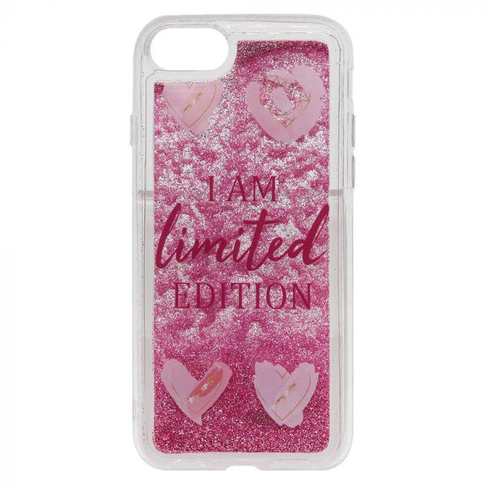 Carcasa iPhone 8 / 7 Lemontti Liquid Sand I Am Limited Edition