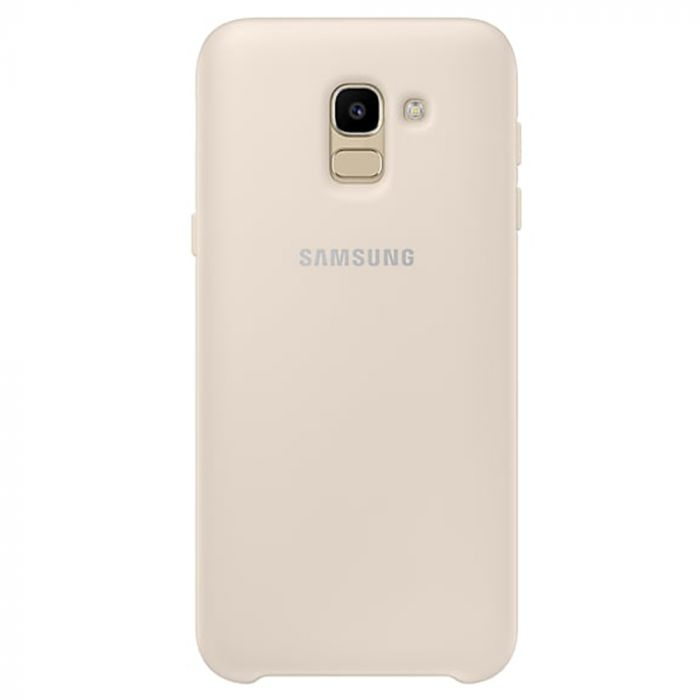 Carcasa Samsung Galaxy J6 (2018) Samsung Dual Layer Cover Gold
