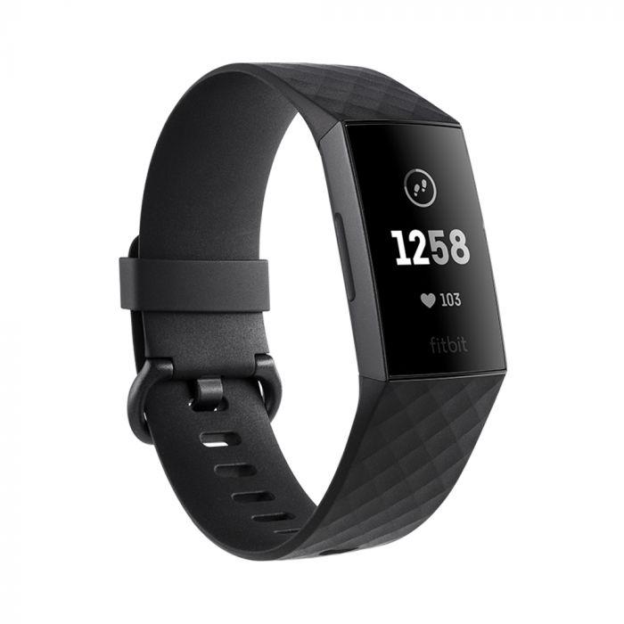 Fitbit Bratara Fitness Charge 3 Graphite / Black