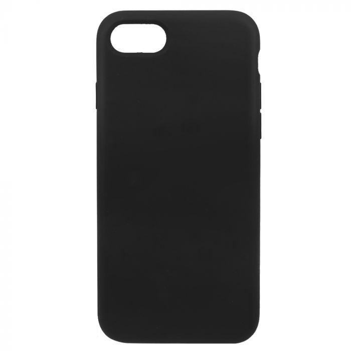 Carcasa iPhone 8 / 7 Just Must Defense Liquid Silicone Black