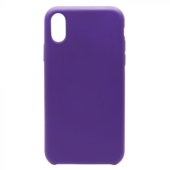 Carcasa iPhone XS Max Lemontti Aqua Dark Purple
