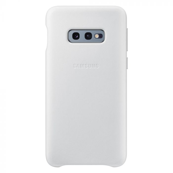 Carcasa Samsung Galaxy S10e G970 Samsung Leather Cover White
