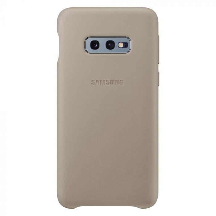 Carcasa Samsung Galaxy S10e G970 Samsung Leather Cover Gray