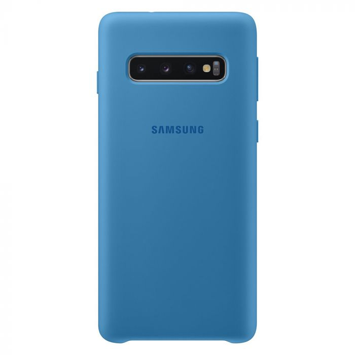 Husa Samsung Galaxy S10 G973 Samsung Silicone Cover Blue
