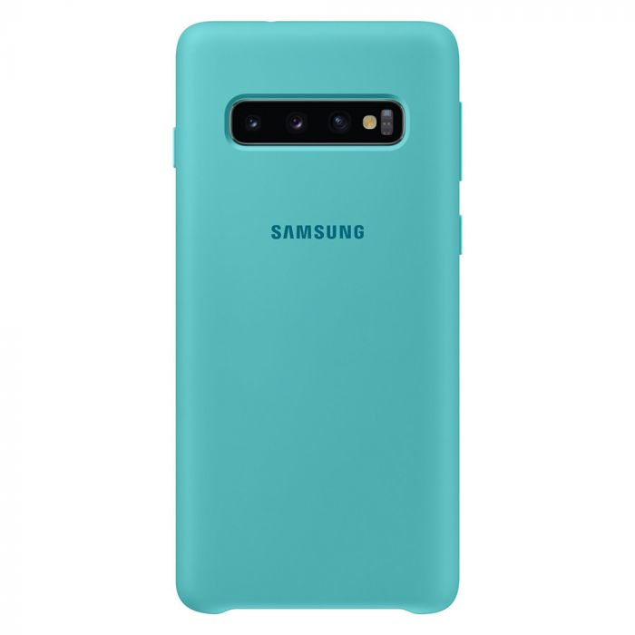 Husa Samsung Galaxy S10 G973 Samsung Silicone Cover Green