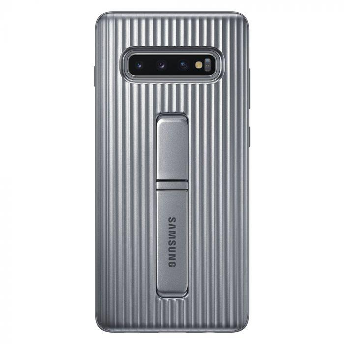 Carcasa Samsung Galaxy S10 Plus G975 Protective Standing Silver