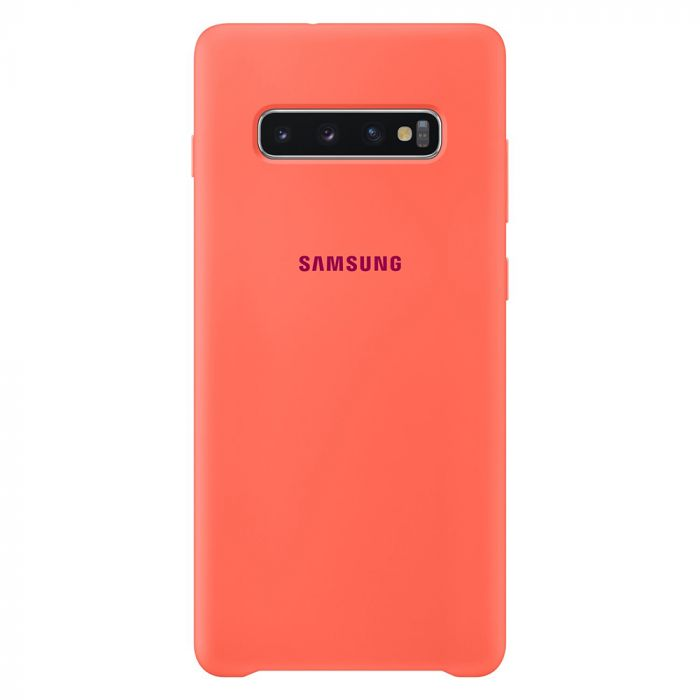 Husa Samsung Galaxy S10 Plus G975 Samsung Silicone Cover Berry Pink