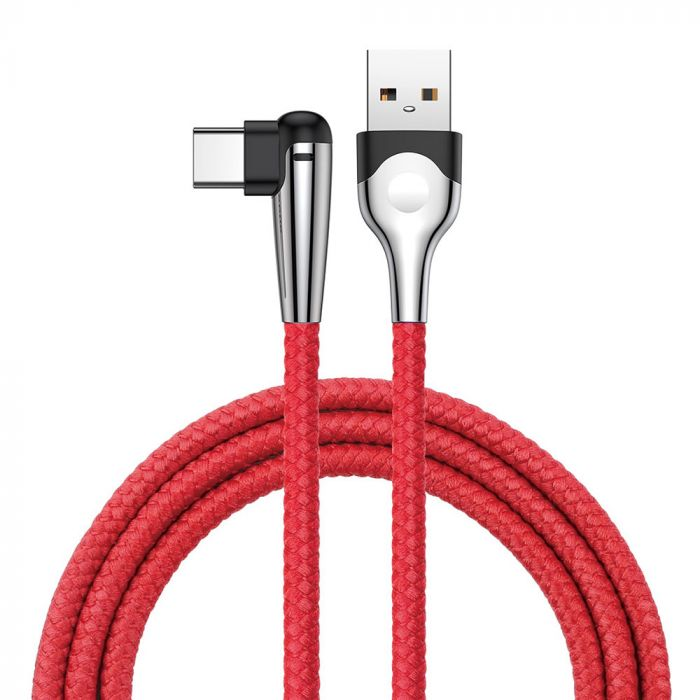 Cablu Type-C Baseus MVP Elbow USB Red
