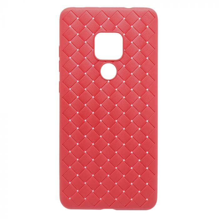 Carcasa Huawei Mate 20 Devia Woven Soft Red