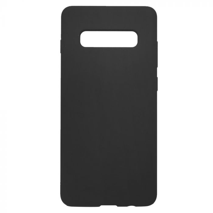 Carcasa Samsung Galaxy S10 G973 Just Must Defense Liquid Silicone Black