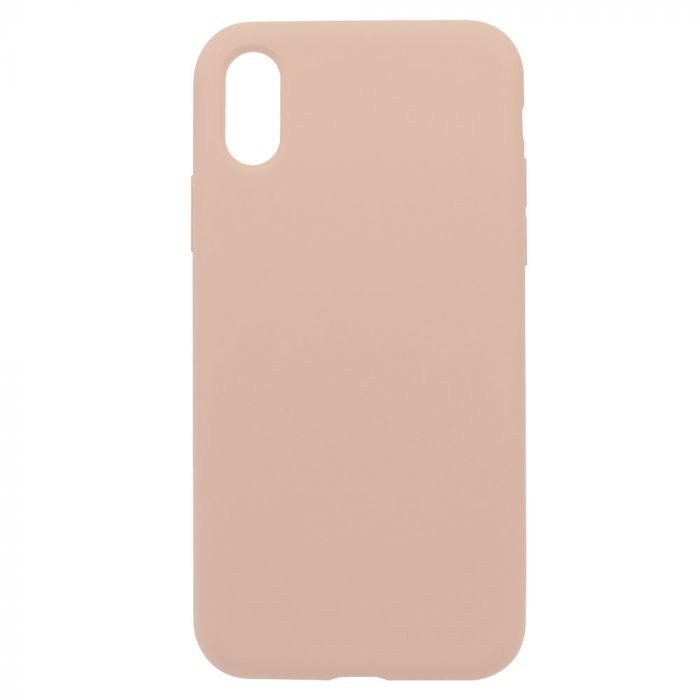 Carcasa iPhone XS Just Must Defense Liquid Silicone Pink