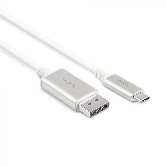 Cablu USB-C la DisplayPort Moshi White 1.5m