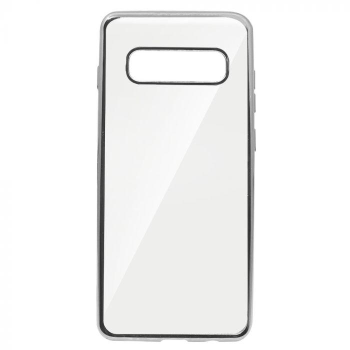 Husa Samsung Galaxy S10 Plus G975 Just Must Silicon Mirror Silver