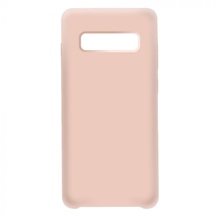 Husa Samsung Galaxy S10 Plus G975 Devia Silicon Nature Series II Pink