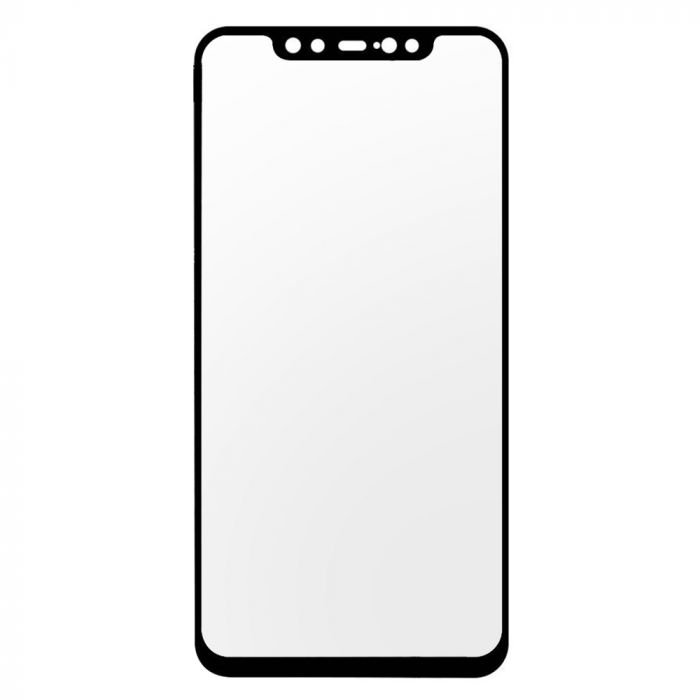 Folie Xiaomi Mi 8 Lemontti Sticla Full Fit Black