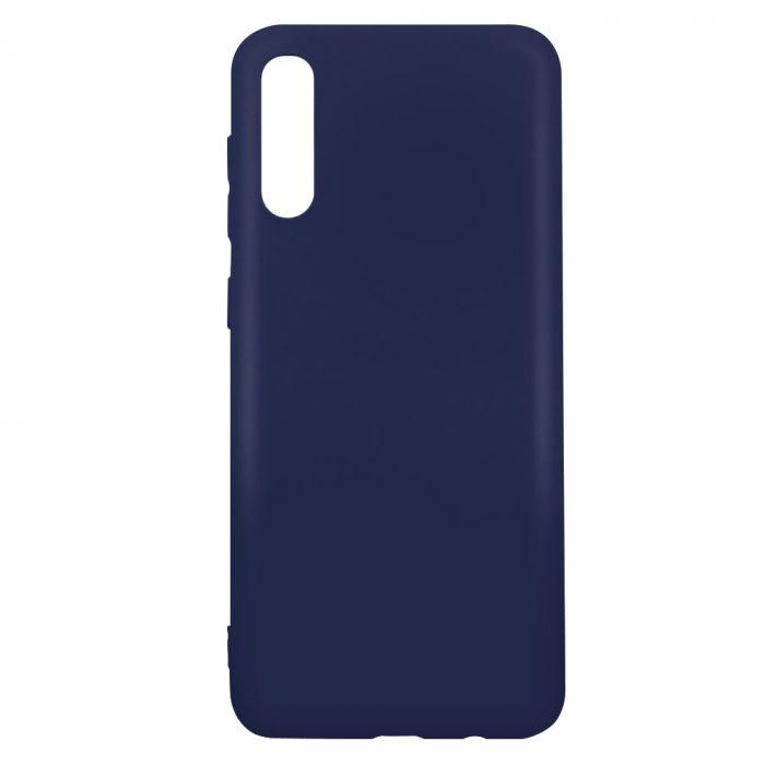 Husa Samsung Galaxy A50 Lemontti Silicon Silky Albastru Inchis