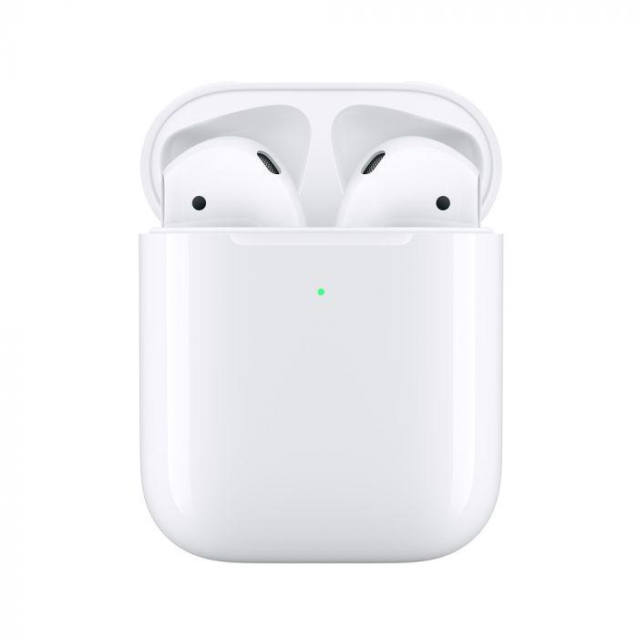 Casti Original Apple Airpods 2 True Wireless Bluetooth cu Carcasa Incarcare Wireless White