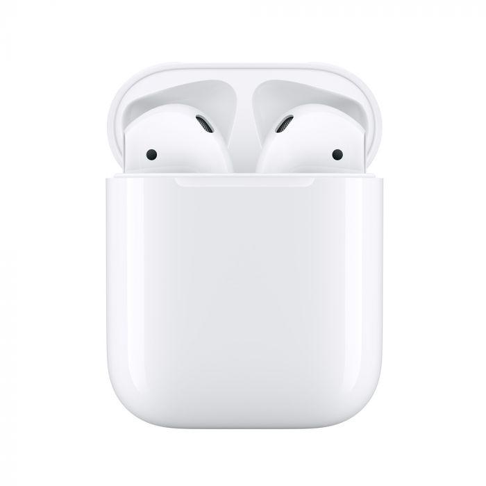 Casti Apple Airpods Generatia 2 cu Charging Case White