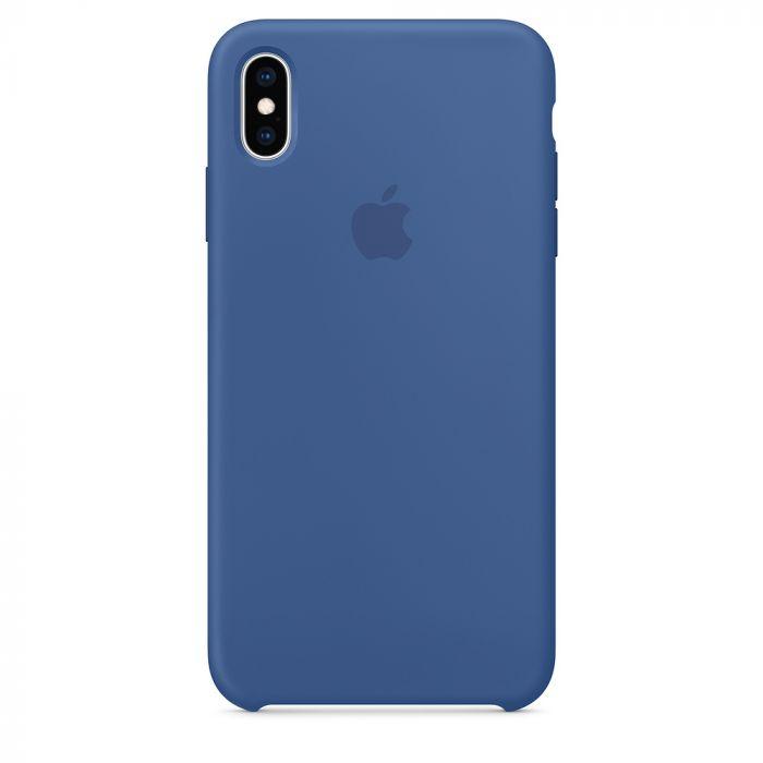 Husa iPhone XS Max Apple Silicon Delft Blue