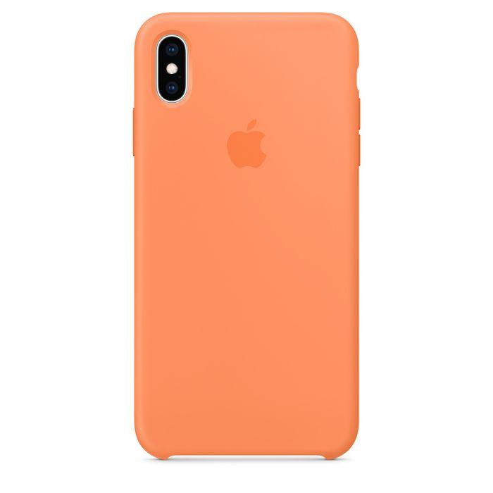 Husa iPhone XS Max Apple Silicon Papaya