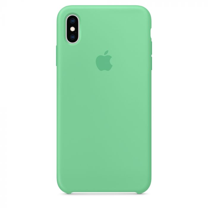 Husa iPhone XS Max Apple Silicon Spearmint