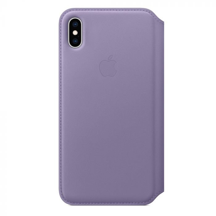 Husa iPhone XS Max Apple Leather Folio Lilac