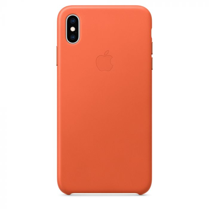 Husa iPhone XS Max Apple Leather Sunset