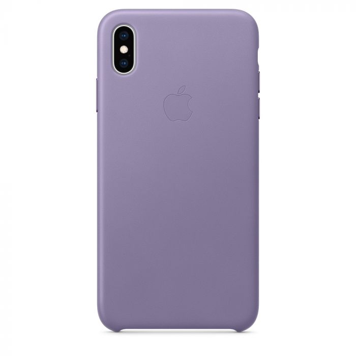 Carcasa iPhone XS Max Apple Leather Lilac
