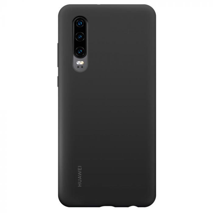 Husa Huawei P30 Huawei Silicon Car Case Black