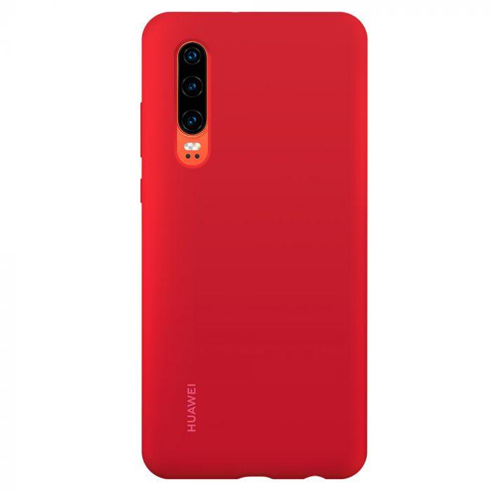 Husa Huawei P30 Huawei Silicon Car Case Red