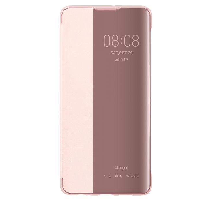 Husa Huawei P30 Huawei View Cover Pink