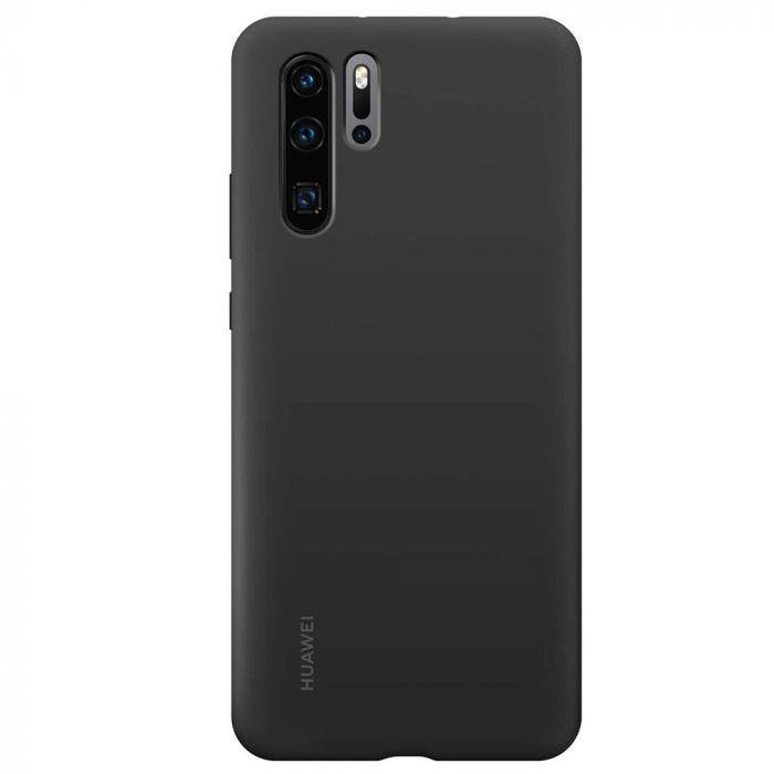 Husa Huawei P30 Pro Huawei Silicon Case Black