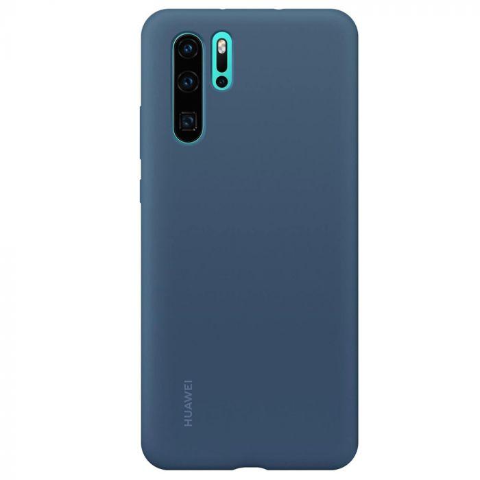 Husa Huawei P30 Pro Huawei Silicon Case Blue