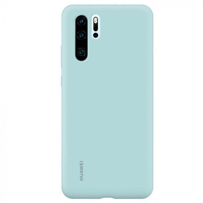 Husa Huawei P30 Pro Huawei Silicon Case Light Blue
