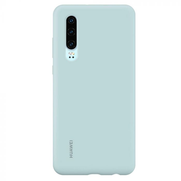 Husa Huawei P30 Huawei Silicon Car Case Light Blue