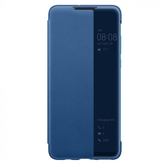 Husa Huawei P30 Lite Huawei View Cover Blue