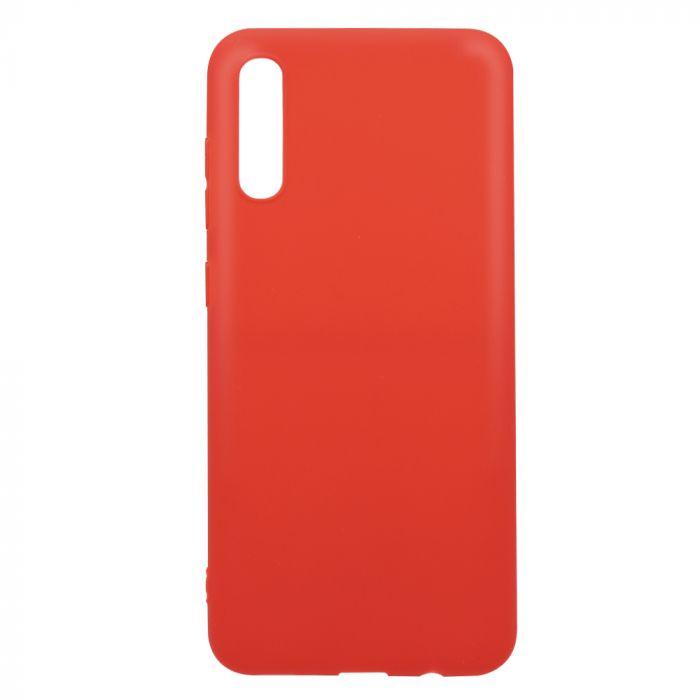 Husa Samsung Galaxy A70 Lemontti Silicon Silky Rosu