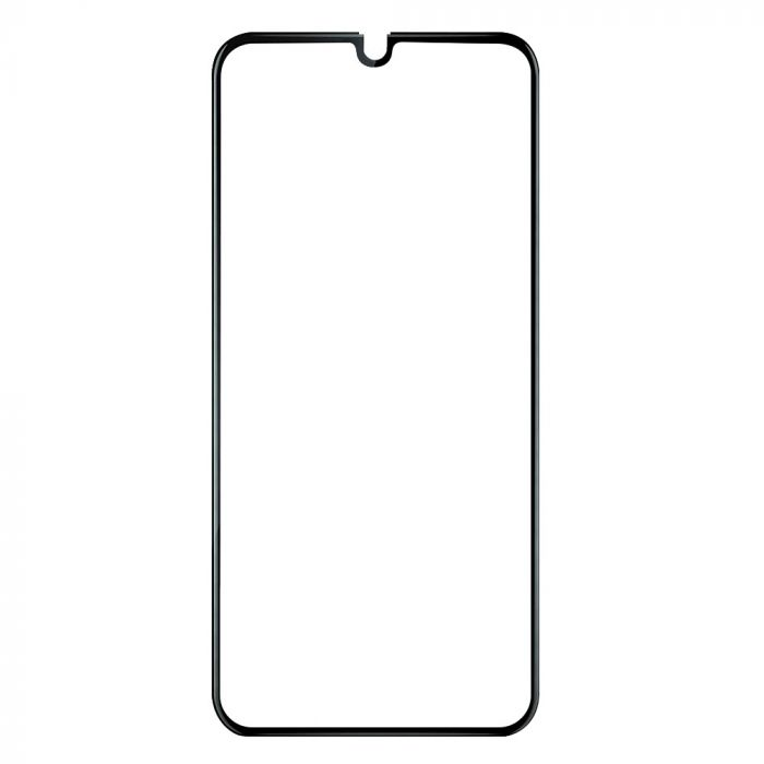 Folie Samsung Galaxy A40 Devia Frame Sticla Temperata Black